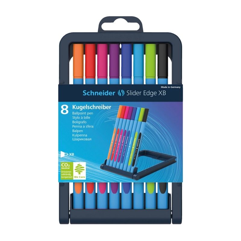 Slider Edge Ballpoint Pen XB, Case 8 pieces